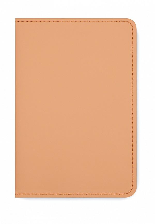 Обложка для документов  - оранжевый цвет