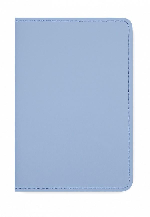 Обложка для документов  - голубой цвет