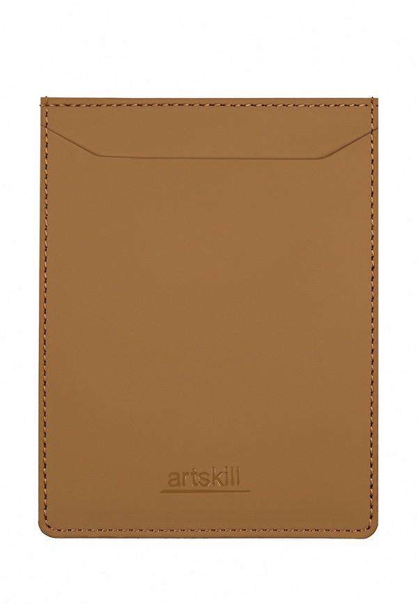 Обложка для документов  - коричневый цвет