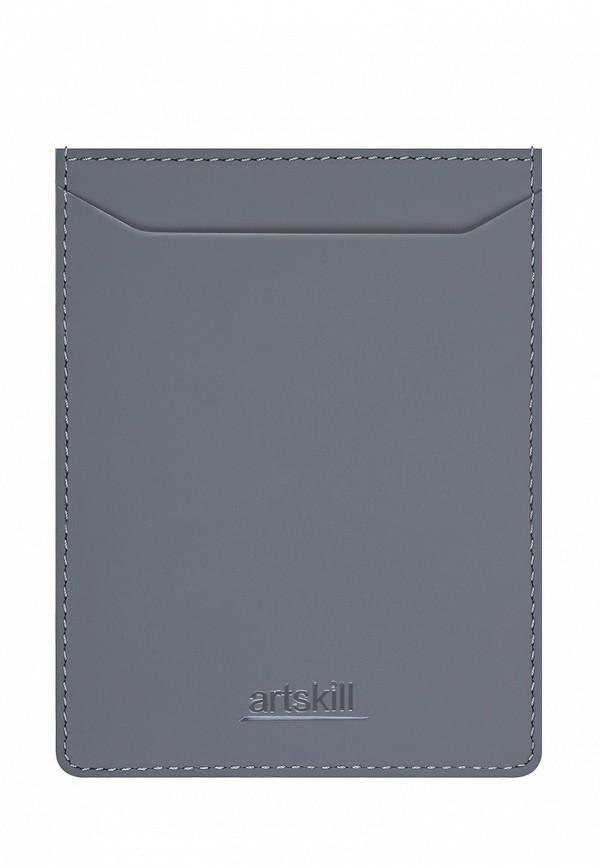 Обложка для документов  - серый цвет