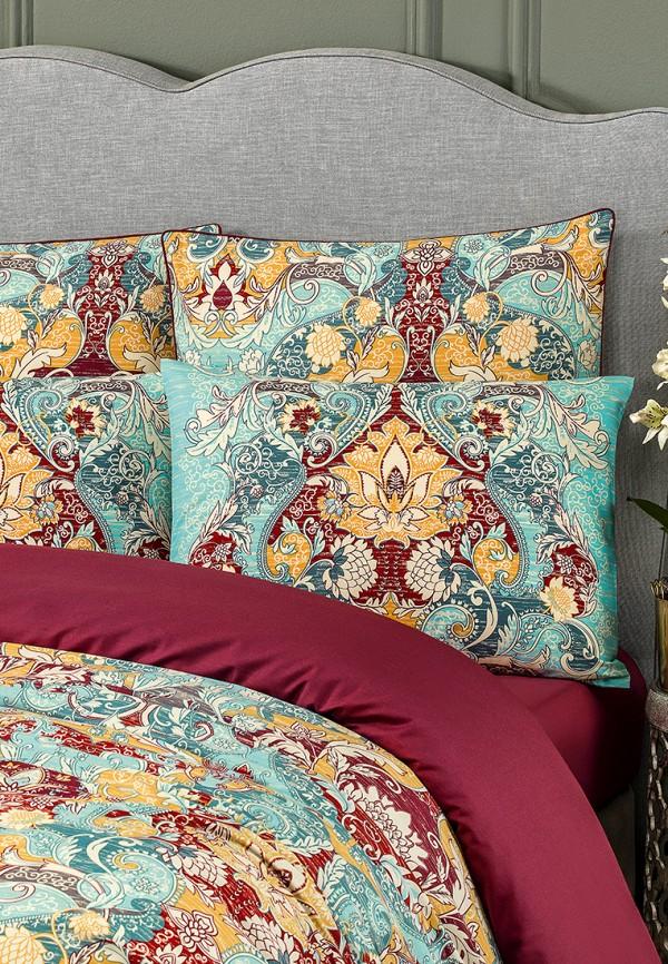 Комплект постельного белья 1,5-спальный Togas. Цвет: бирюзовый