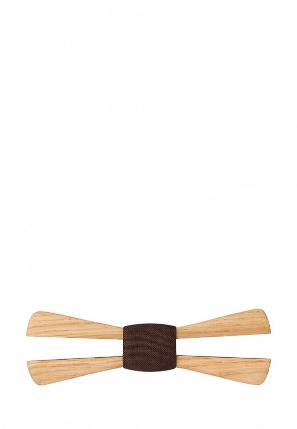 Галстук  - коричневый цвет