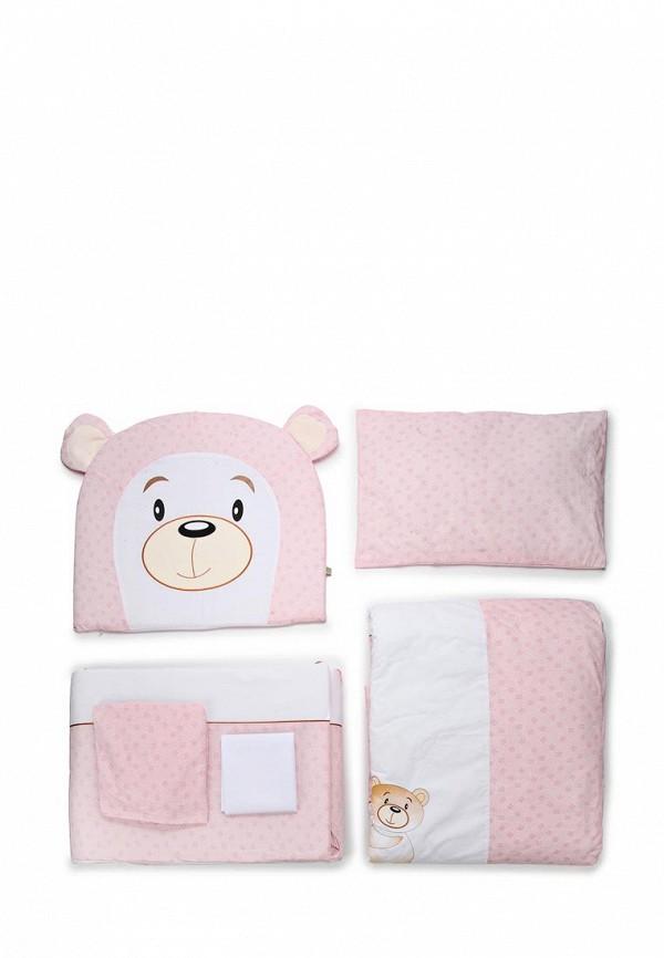 Постельное белье Сонный Гномик Сонный Гномик MP002XU0DY39 сонный гномик борт в кроватку прованс сонный гномик розовый