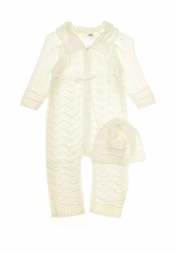 Комплект комбинезон и шапка Фламинго текстиль