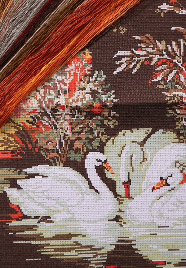 Набор для вышивания Живой Шелк от Lamoda RU