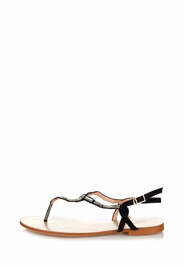 Фото 2 - женские сандали ditto черного цвета