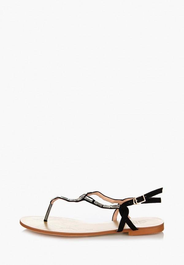 Фото 7 - женские сандали ditto черного цвета