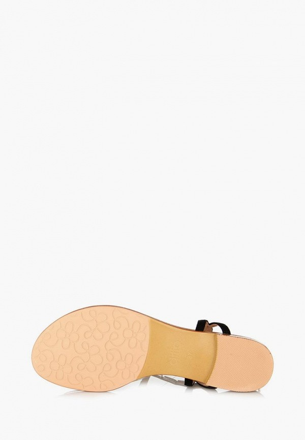Фото 9 - женские сандали ditto черного цвета