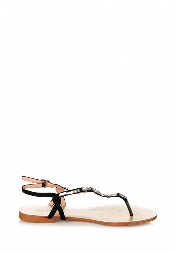 Фото 3 - женские сандали ditto черного цвета