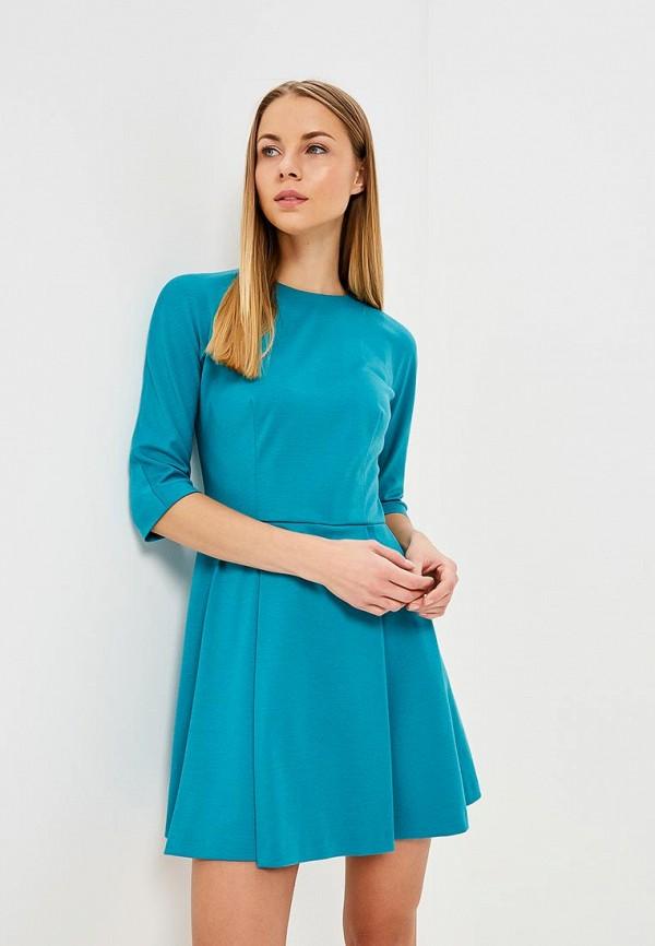 Купить Платье Galina Vasilyeva, MP002XW025MP, бирюзовый, Весна-лето 2018
