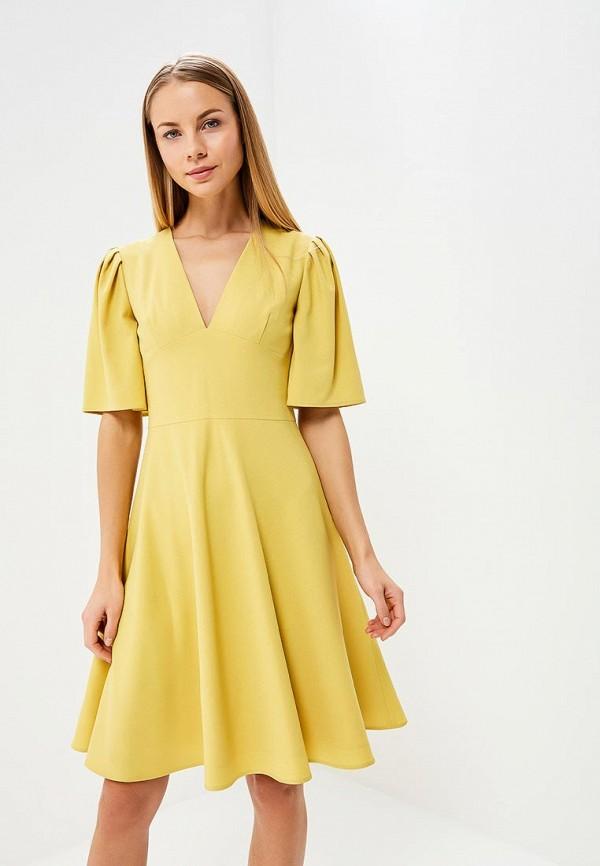 Купить Платье Galina Vasilyeva, MP002XW025MT, желтый, Весна-лето 2018