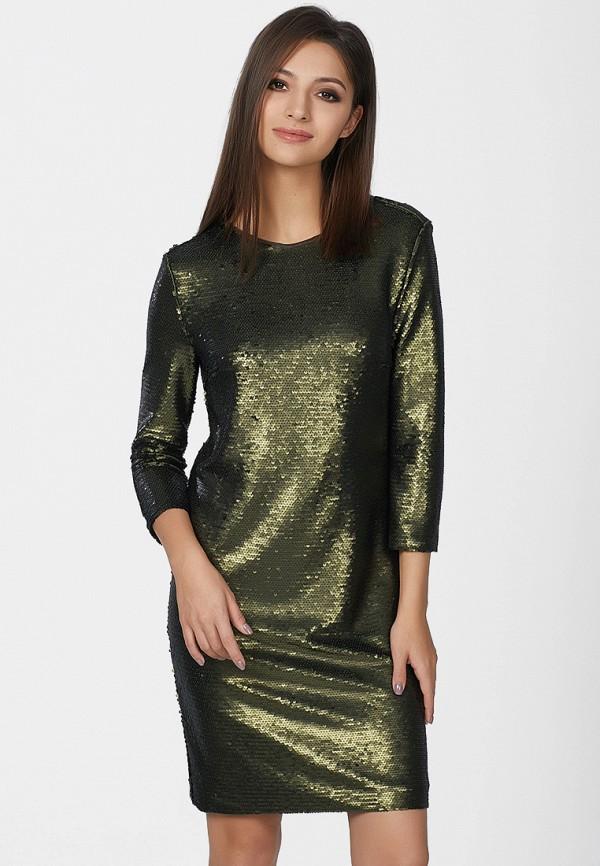 Купить Платье Fly, MP002XW0DMHE, хаки, Осень-зима 2017/2018