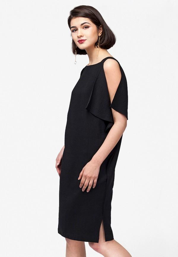 цена Платье Vilatte Vilatte MP002XW0DN3N онлайн в 2017 году