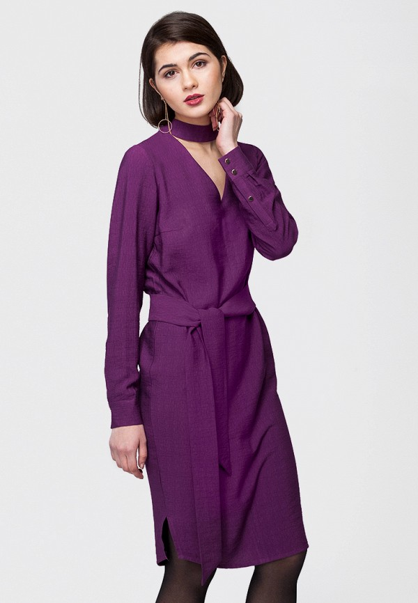 цена Платье Vilatte Vilatte MP002XW0DN3X онлайн в 2017 году