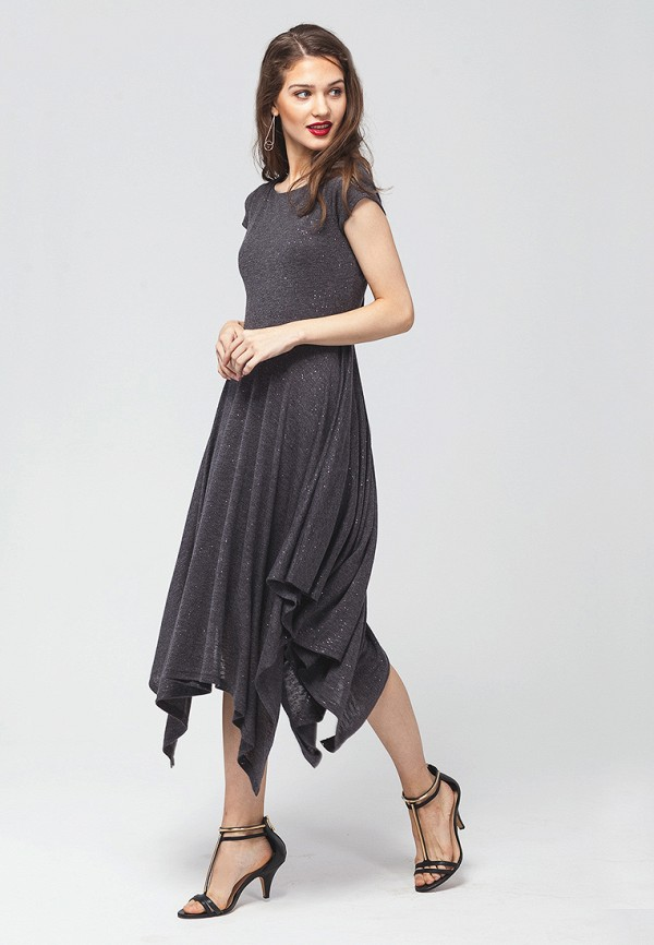 цена Платье Vilatte Vilatte MP002XW0DN4H онлайн в 2017 году