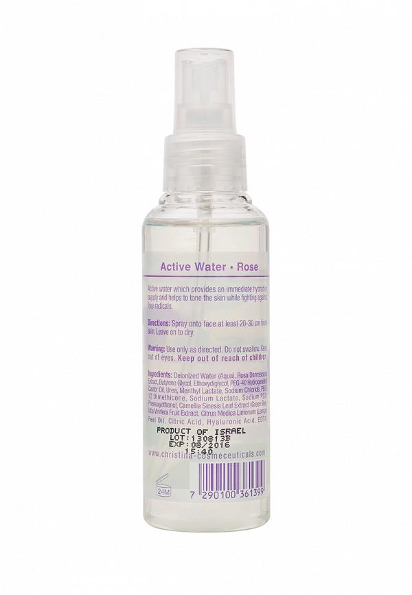 Активная розовая вода для усталой кожи Christina Cleaners - Очищающие средства для лица