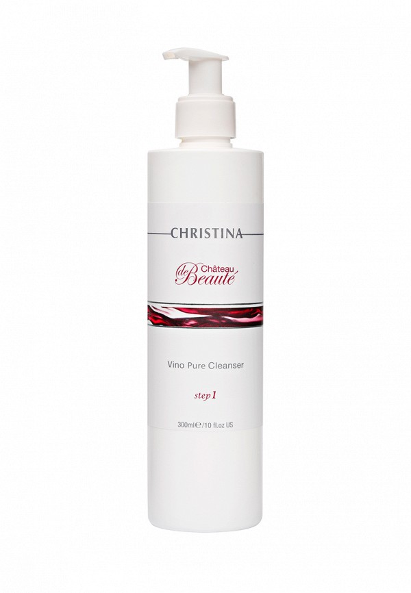 Гель очищающий Christina Chateau De Beaute - Омолаживающая линия для лица с экстрактами винограда 300 мл  недорого