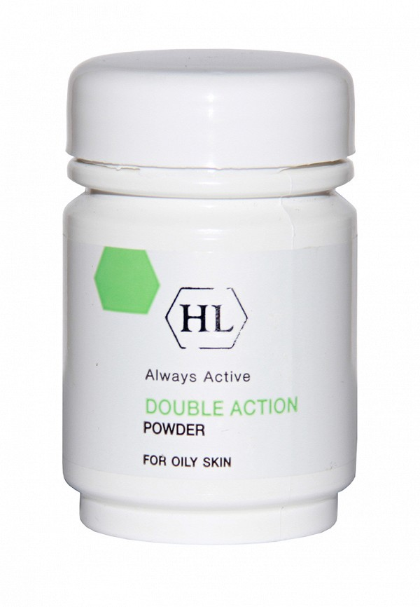 Защитная пудра Holy Land Double Action - Линия для жирной кожи лица
