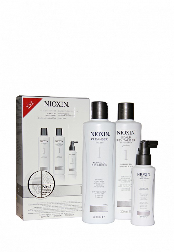 Набор Система 1 Nioxin Nioxin MP002XW0DR4H nioxin 300ml