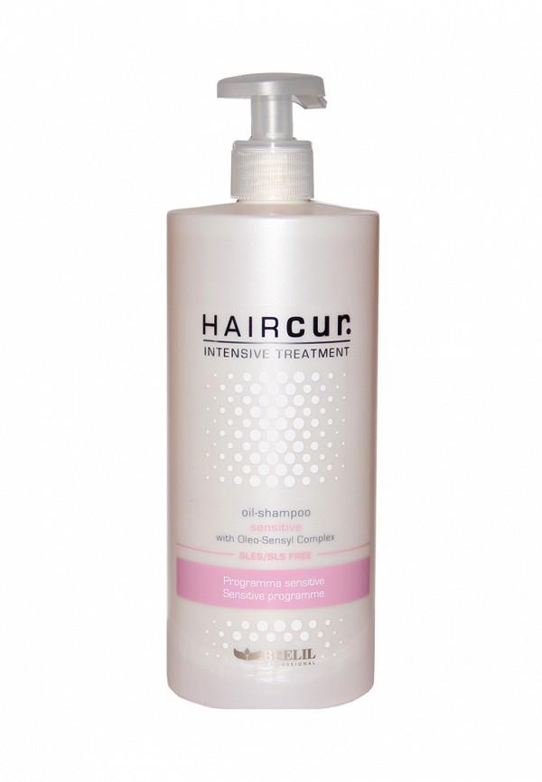 Шампунь-масло успокаивающий для чувствительной кожи Brelil Professional Hair Cur Intensive Treatment