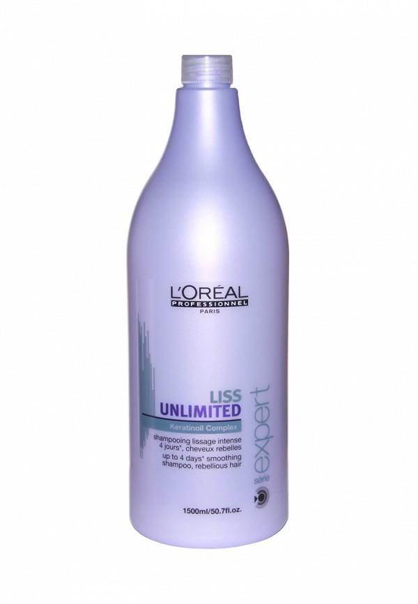 Шампунь для непослушных волос LOreal Professional Liss Unlimited