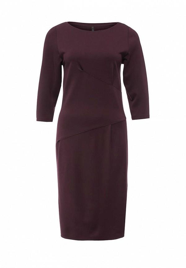 Платье Firkant. Цвет: бордовый