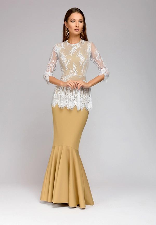 Платье 1001dress 1001dress MP002XW0E6A7 платье 1001 dress цвет бежевый