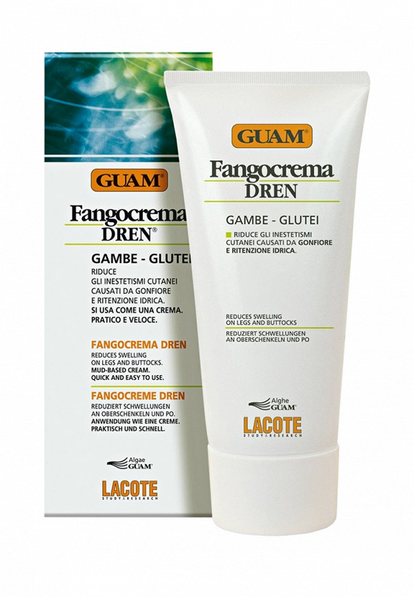 Крем антицеллюлитный с дренажным эффектом Guam Guam MP002XW0EWFQ стик антицеллюлитный guam guam mp002xw024df