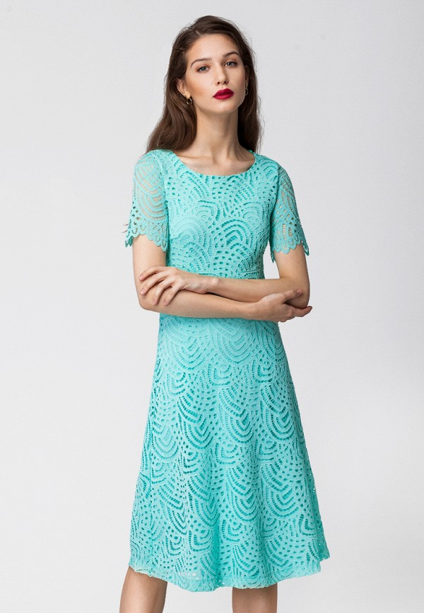 цена Платье Vilatte Vilatte MP002XW0F4KA онлайн в 2017 году