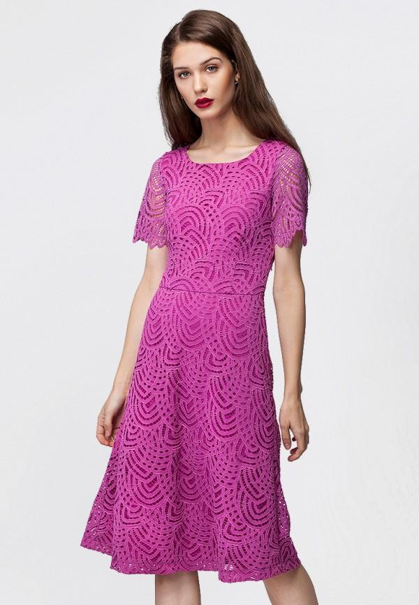 цена Платье Vilatte Vilatte MP002XW0F4KB онлайн в 2017 году