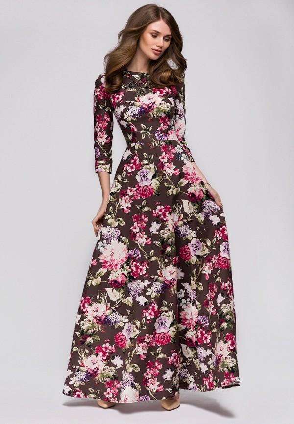 Купить Платье 1001dress, MP002XW0F4OR, коричневый, Весна-лето 2018