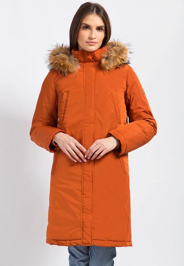 Купить Куртка утепленная Finn Flare, MP002XW0F52K, оранжевый, Осень-зима 2017/2018