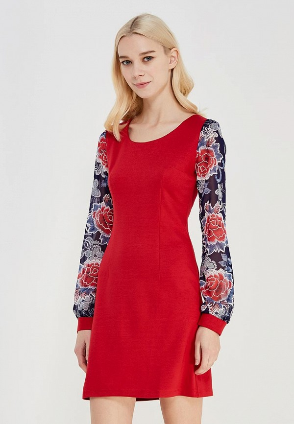 Платье Yuliana Eva Bogart Yuliana Eva Bogart MP002XW0F580 платье eva milano цвет красный черный горчичный