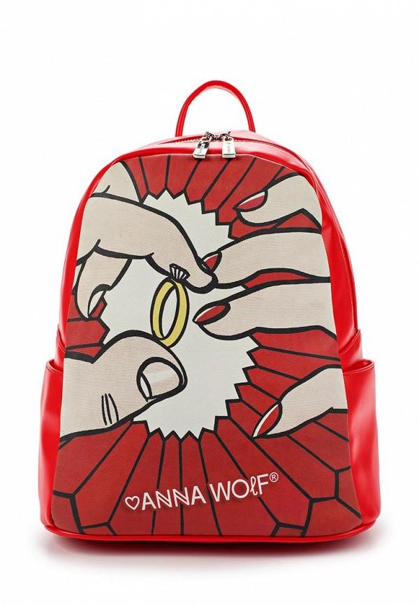Рюкзак Anna Wolf Anna Wolf MP002XW0F5CJ anna wolf сумка anna wolf fw 010 33 хаки