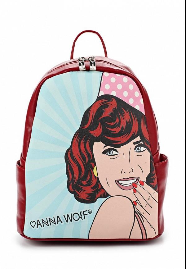 Рюкзак Anna Wolf Anna Wolf MP002XW0F5CO anna wolf сумка anna wolf fw 010 33 хаки