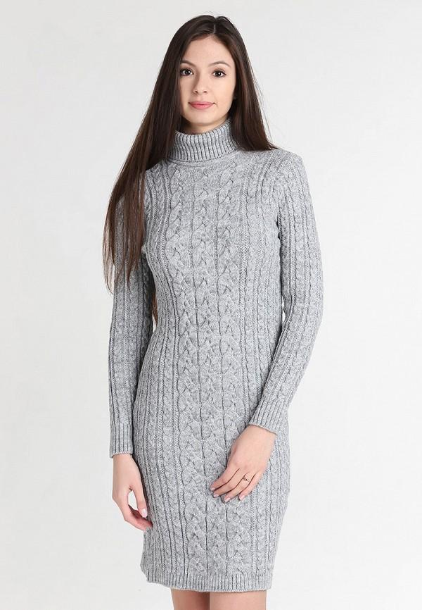 Купить Платье Sava Mari, MP002XW0F6I3, серый, Осень-зима 2017/2018