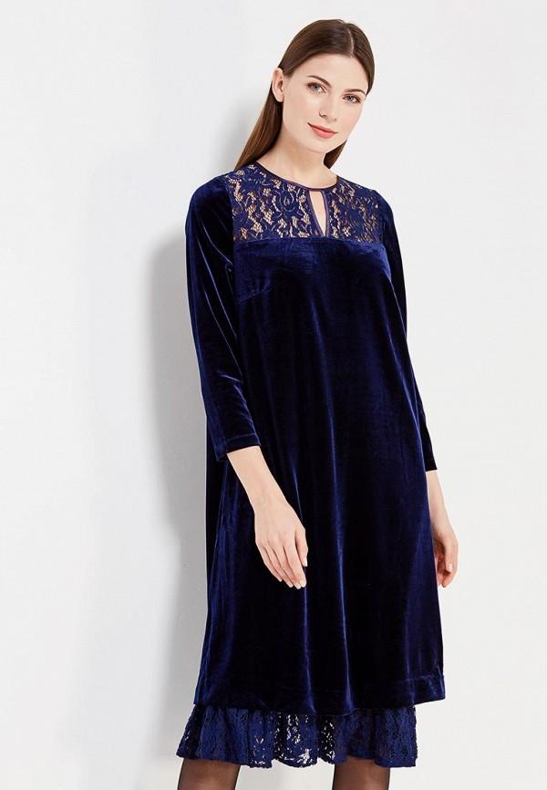 Купить Платье D'lys, MP002XW0F6LS, синий, Осень-зима 2017/2018