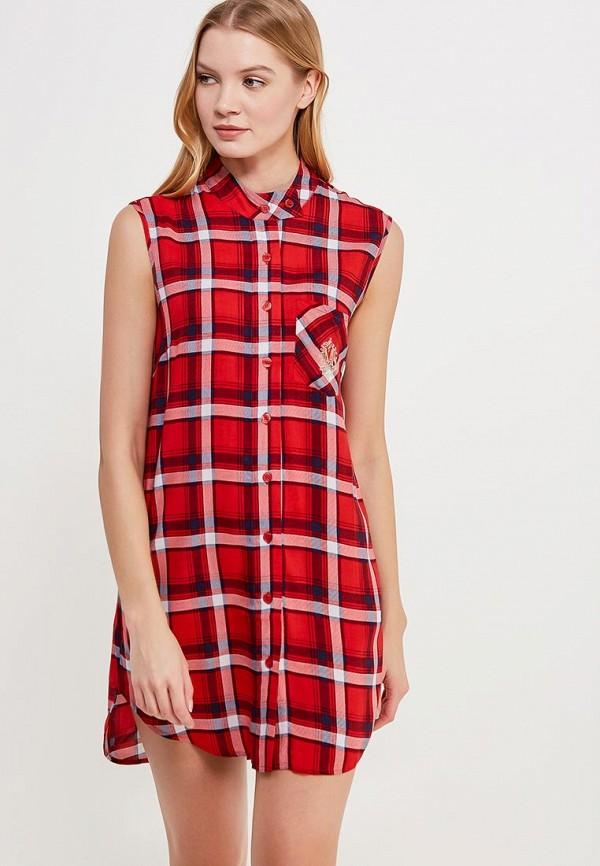 Платье домашнее Mia-Mia Mia-Mia MP002XW0F6YU домашние халаты mia mia домашний халат yesenia xl