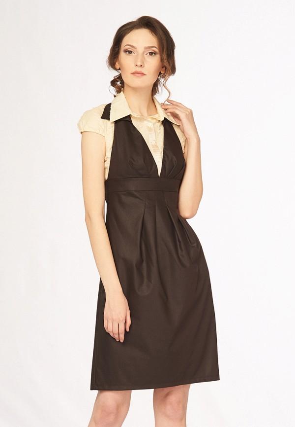 Купить Платье Ано, MP002XW0F80C, коричневый, Осень-зима 2017/2018