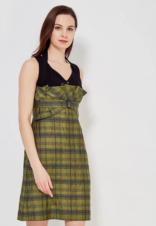 Купить Платье Ано, MP002XW0F859, зеленый, Осень-зима 2017/2018