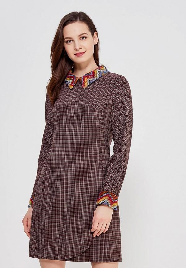 Купить Платье Ано, MP002XW0F85L, коричневый, Осень-зима 2017/2018
