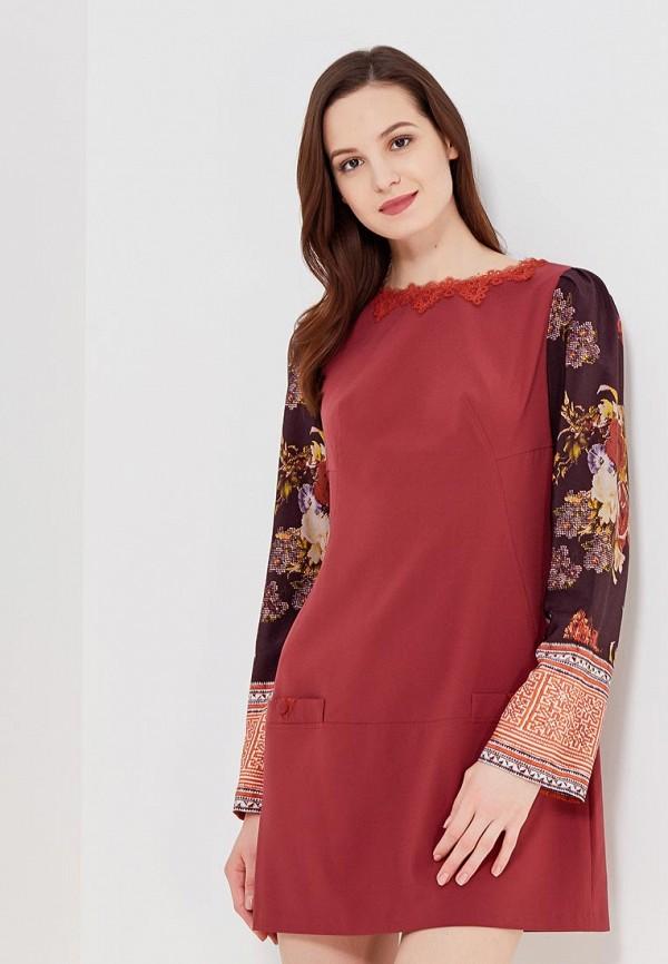 Купить Платье Ано, MP002XW0F85Z, бордовый, Осень-зима 2017/2018
