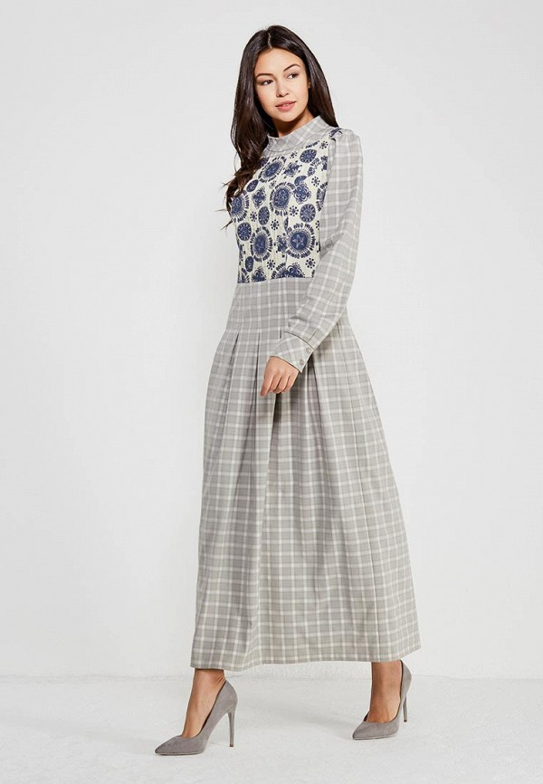 Купить Платье Ано, MP002XW0F86F, серый, Осень-зима 2017/2018
