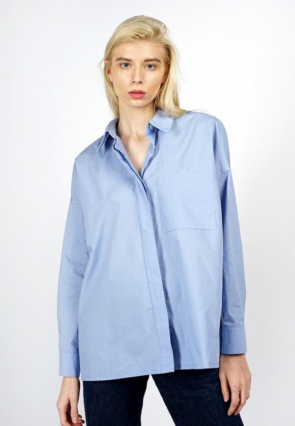 Рубашка BURLO, MP002XW0F8LI, голубой, Осень-зима 2017/2018  - купить со скидкой