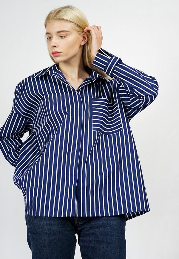 Купить Рубашка BURLO, MP002XW0F8LY, синий, Осень-зима 2017/2018