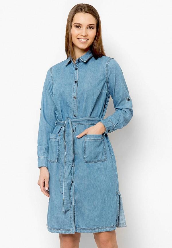 Платье джинсовое Finn Flare Finn Flare MP002XW0IWZU платье джинсовое finn flare finn flare mp002xw18ur2