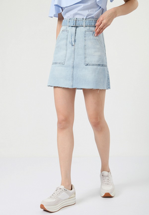 Юбка джинсовая Lime Lime MP002XW0IY35 юбка lime юбка