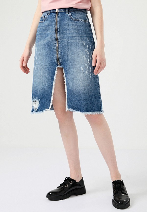 Юбка джинсовая Lime Lime MP002XW0IY4V юбка lime юбка