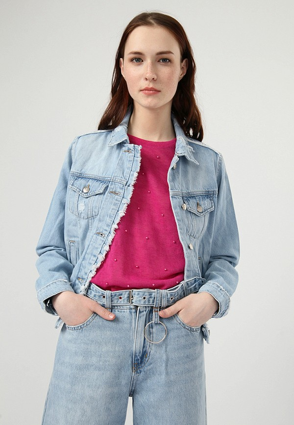 Купить Куртка джинсовая Lime, MP002XW0IY5F, голубой, Весна-лето 2018