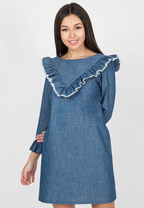 Платье джинсовое Madlen Madlen MP002XW0MQA9 платье madlen madlen mp002xw0tmo4